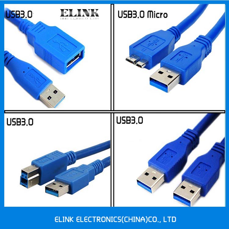 High Speed USB 3.0 Cables