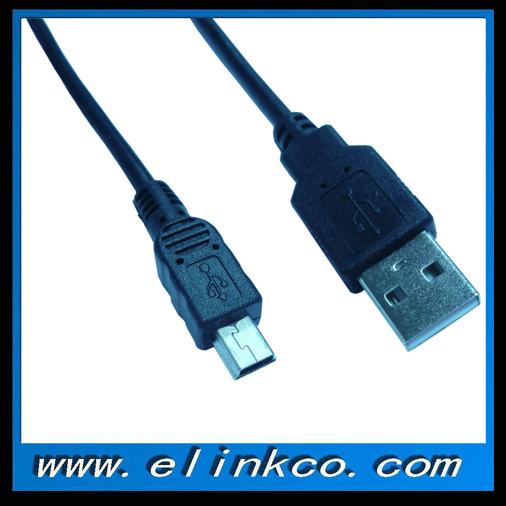 1m mini usb to usb cable