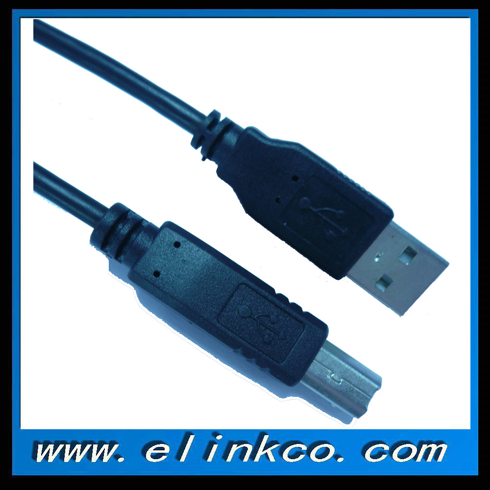 USB Cable for Printer USB A male to B male