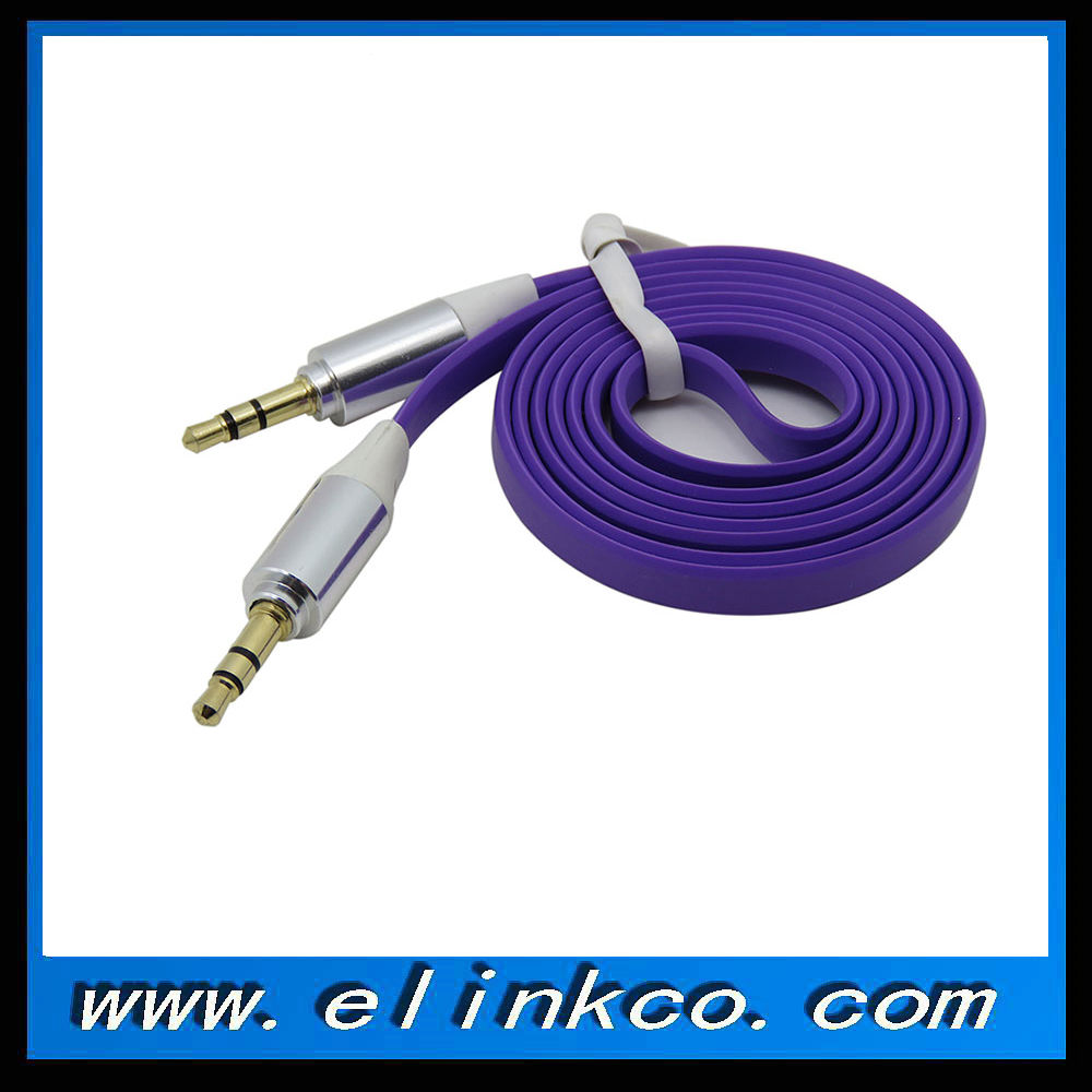 Flat  audio cable